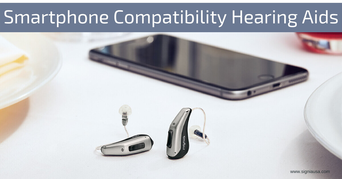 Smartphone Compatible Hearing Aids